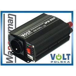 Przetwornica napięcia 24V/230V 500W Volt IPS500 PLUS