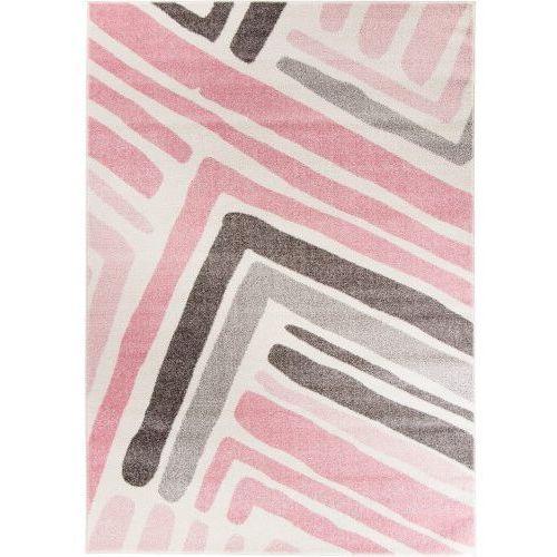 Dywan Komfort Modern Pink Frame 180x270 Róż Pasy Porównaj