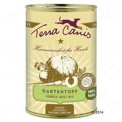 Terra Canis Smaki ogrodu, mix warzyw i owoców - 6 x 400 g