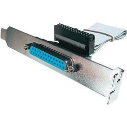 Równoległy Kabel Digitus AK-580300-003-E, [1x Złącze żeńskie D-SUB 25-pin - 1x Listwa żeńska 26 pin], 0.25 m, Beżowy