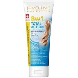 Eveline Krem - maska do rąk i paznokci 8w1 Total Action 75 ml
