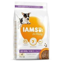IAMS sucha karma Dog Puppy Small&Medium Chicken 3 kg