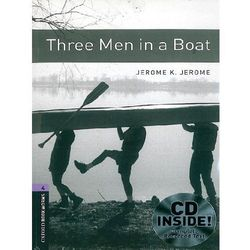 Three Men In a Boat + CD. The Oxford Bookworms Library Stage 4 (1400 Headwords) (opr. miękka)