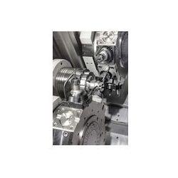Foto naklejka samoprzylepna 100 x 100 cm - Tokarki, cnc frezarka