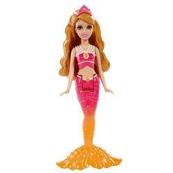 Barbie mini Syrenki różowo-pomarańczowa