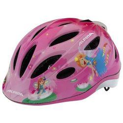ALPINA Gamma Flash 2.0 - Kask rowerowy dziecięcy, 46-51cm - Little Princess (46-51cm)