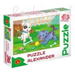 ALEXANDER Puzzle 36 gigant Małe Pieski