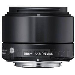 Sigma 19 mm f/2,8 DN A (czarny) - produkt w magazynie - szybka wysyłka! Darmowy transport od 99 zł   Ponad 200 sklepów stacjonarnych   Okazje dnia!