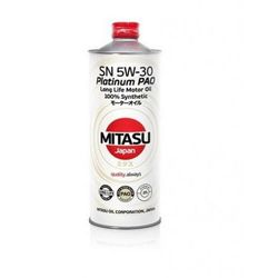MITASU PLATINUM PAO SN 5W-30 100% SYNTHETIC 1L