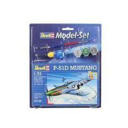 Revell, model do sklejania P-51 Mustang, zestaw