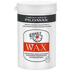 PILOMAX WAX KAMILLE maska do włosów mocno zniszczonych rozjaśnianiem i po dekoloryzacji 480ml
