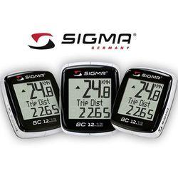 02120 Licznik SIGMA BC 12.12 przewodowy z termometrem, POLSKIE menu