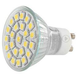 Lampa LED WHITENERGY Żarówka LED MR16 - 24x SMD 5050 - GU10