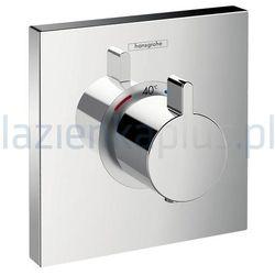Bateria Hansgrohe Bateria prysznicowa termostatyczna podtynkowa chrom hansgrohe showerselect highflow 15760000 15760000
