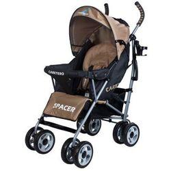 Caretero SPACER CLASSIC wózek dziecięcy spacerówka beżowy beige