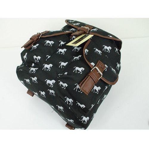 Plecak Szkolny TARA Vintage Hipster Plecaki Konie T08