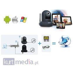 Foscam bezprzewodowa kamera IP FI9826W(white) Pan/Tilt/Zoom(x3) WLAN 4-12mm 960p