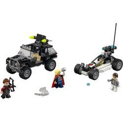 Lego SUPER HEROES 76030 avengersi w pogoni za hydrą - klocki super heroes 76030