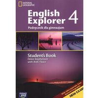 English Explorer 4. Klasa 1-3, gimnazjum. Język angielski. Podręcznik (+CD) (opr. broszurowa)