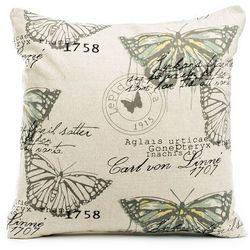 Jahu Poszewka na poduszkę Butterfly, 45 x 45 cm