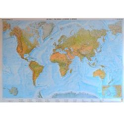 Świat mapa fizyczna arkusz 1:25 000 000 Freytag & Berndt