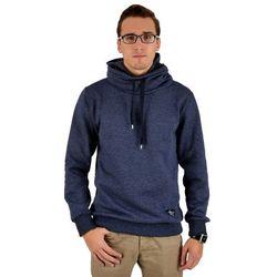 Bluza męska z kapturem - niebieska (NM 10301)