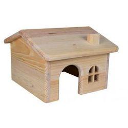 Domek dla gryzoni drewno sosnowe