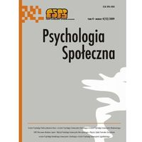 Psychologia Społeczna nr 4(12)/2009 - No author - ebook