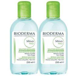 BIODERMA Sebium H20 Antybakteryjny płyn micelarny 250ml + 250ml gratis!