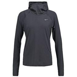 Nike Performance ELEMENT Bluzka z długim rękawem black/reflective silver