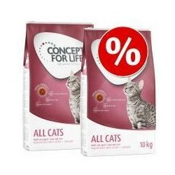 Dwupak Concept for Life - All Cats (2 x 3 kg)