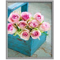 Obraz Roze W Koszu 43 X 53 Cm Knor