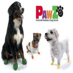 PAWZ buty dla psa z naturalnej gumy rozm. XS 1szt.