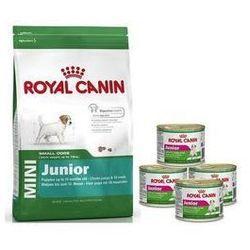 ROYAL CANIN Wyprawka Mini Junior 800g + 4 puszki Gratis