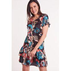 5eff2c76df suknie sukienki biala romantyczna sukienka z azurowym haftem (od ...