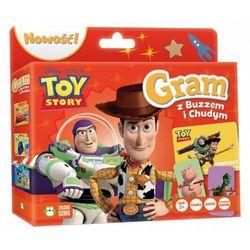 Gram z buzzem i Chudym. Toy Story. Disney + zakładka do książki GRATIS