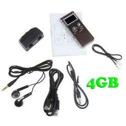 Zestaw do Cyfrowego Zapisu Rozmów Telef. Stacjonarnych 4GB (500h) + Współpraca z PC + VOX + MP3...