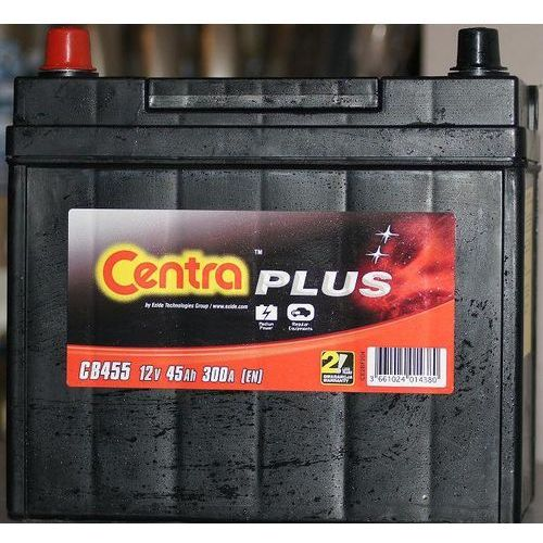 Akumulator Centra Plus 12V 45Ah 300A L+ (wymiary: 235 x 127 x 226) (CB455)