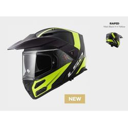 KASK LS2 FF324 METRO EVO RAPID BLACK / YELLOW - model: Rok 2018!