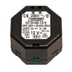 Transformator230/12v VDC 1A Oras 199275