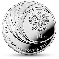 Srebrna moneta z okazji Kanonizacji Jana Pawła II - 10 zł - kolor- Wysyłka w 24 h!