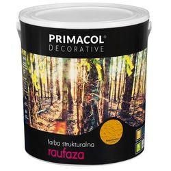 Farba strukturalna Raufaza Bursztynowy 5 l Primacol Decorative