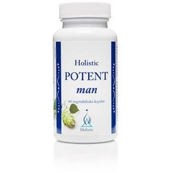 Potent Man Holistic - wsparcie sprawności seksualnej mężczyzn suplement diety, 60 kaps