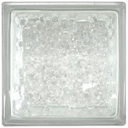Pustak szklany Krople bezbarwny Glass