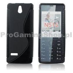 Silicone Case for Nokia 515, Black