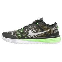 Nike Performance LUNAR CALDRA Obuwie treningowe black/white/military green/voltage green