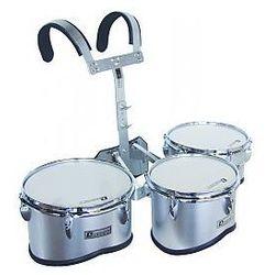 Dimavery MT-330 Marching Drum Set, silver, zestów bębnów marszowych
