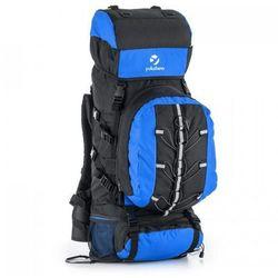 aa8c5fb8962bf Yukatana Almer plecak trekkingowy 80l 40x80x35 cm daypack niebieski/czerwony
