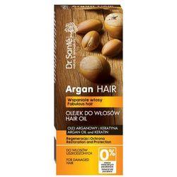 GREEN PHARMACY Dr. Santé Olejek regenerujący do włosów z olejem arganowym i keratyną