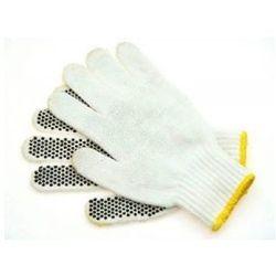 Rękawice robocze dziane nakrapiane